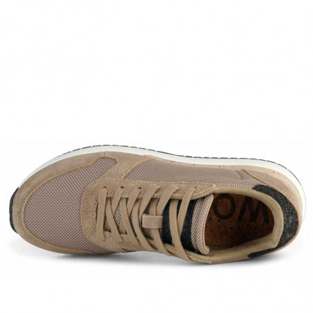 Woden Sneakers, Ydun Fifty, Silver Mink - top