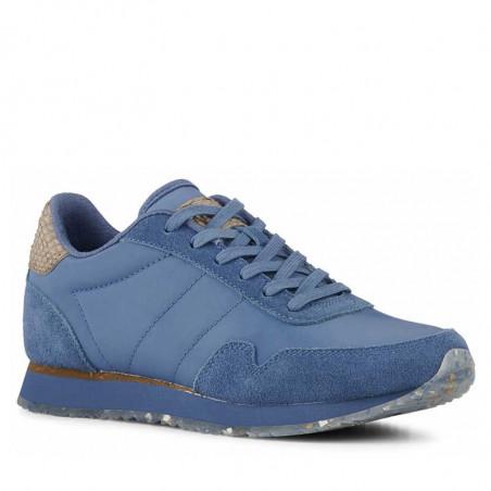 Woden Sneakers, Nora III Leather, Vintage Blue
