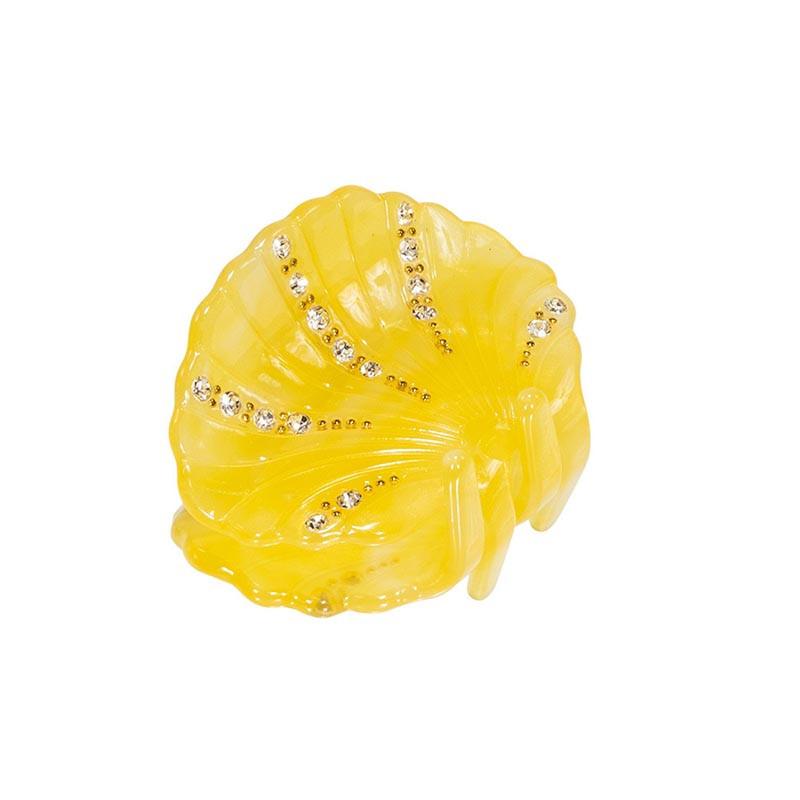 Pico Hårspænde, Petit Ariel, Yellow Pico Copenhagen Hårklemme med simili sten