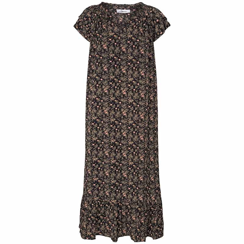 Co'Couture Kjole, Sunrise Ming Flower, Black, hverdagskjole, sommerkjole, festkjole