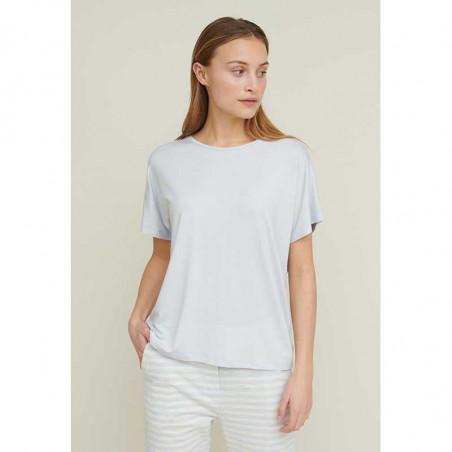 Basic Apparel T-shirt, Joline, Arctic Ice bæredygtigt tøj