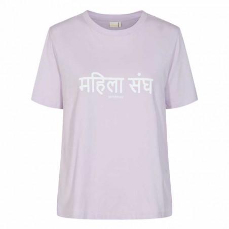 Nümph T-Shirt, Nusisterhood, Orchid Petal, numph tøj, økologisk bomuld
