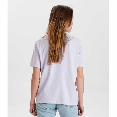 Nümph T-Shirt, Nusisterhood, Orchid Petal, numph tøj, økologisk bomuld - bagside