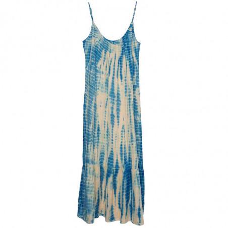 Sissel Edelbo Kjole, Delhi Tie Dye, Blue, sommerkjole, hverdagskjole, tie dye