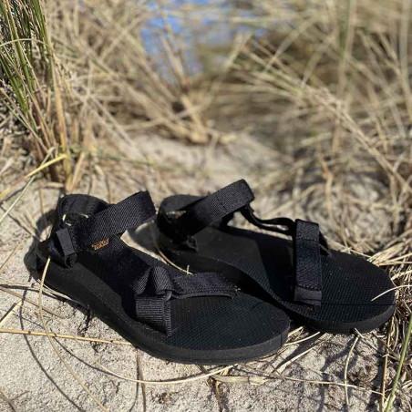 Teva Sandaler, Original Universal, Black badesandaler - miljø