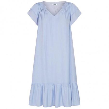 Co'Couture Kjole, Sunrise Crop, Pale Blue sommerkjoler, hverdagskjole, festkjole, Sunrise kjole i lys blå
