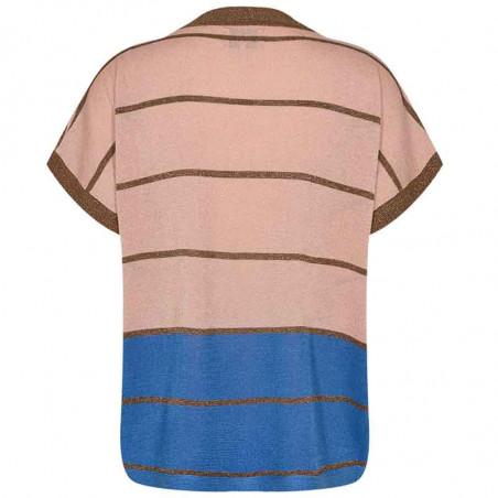 Nümph Bluse, Nucharisma Darlene pullover, Evening Sand numph bluse numph top nümph top ryg