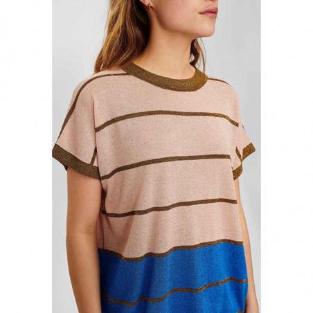 Nümph Bluse, Nucharisma Darlene pullover, Evening Sand numph bluse numph top nümph top detalje