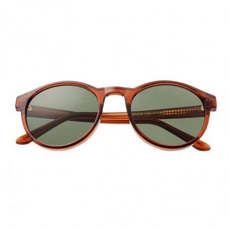 A Kjærbede Solbriller, Marvin, Brown Transparent klassiske solbriller