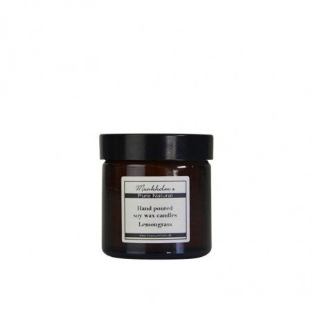 Munkholm Duftlys, Soya Wax Lemongrass, 60ml