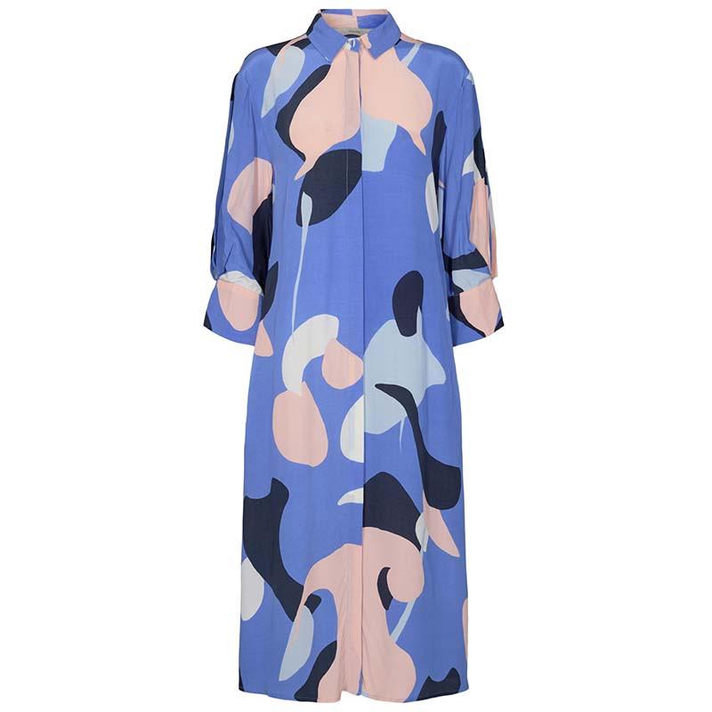 Nümph Kjole, Nucora, Ultramarine Numph kjole hverdagskjole festkjole  skjortekjole