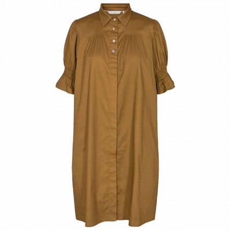 Nümph Kjole, Nucharity Dress, Breen Numph skjortekjole, hverdagskjole