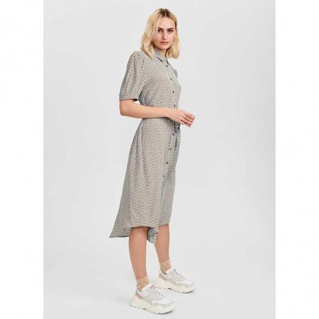 Nümph Kjole, Nucecelia Shirt Dress, Cashmere Blue Numph skjortekjole, hverdagskjole, sommerkjole look