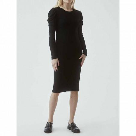 Modström Kjole, Lena, Black, kjole fra Modstrom, Modstrøm, tætsiddende kjole, stram kjole, sort