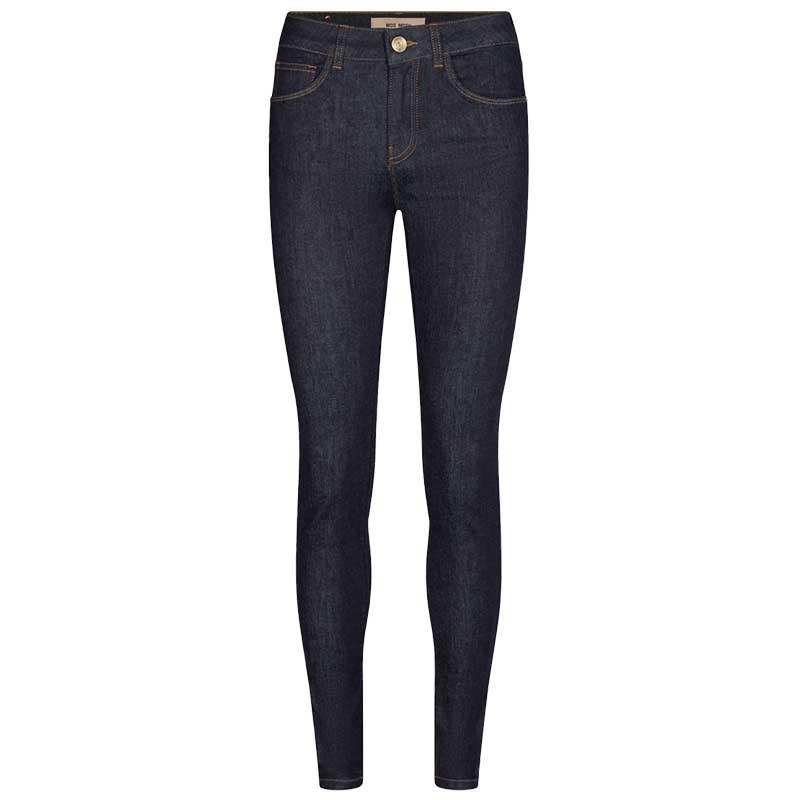 Mos Mosh Jeans, Alli Cover, Dark Blue, denim jeans, stretch jeans, blå bukser