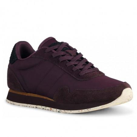 Woden Sneakers, Nora III Leather, Fudge side