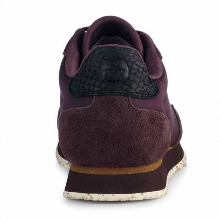 Woden Sneakers, Nora III Leather, Fudge hælkap