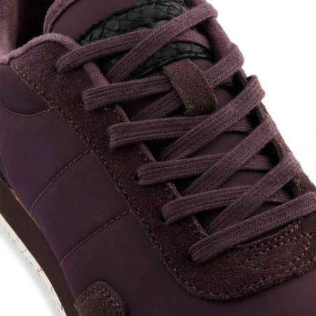 Woden Sneakers, Nora III Leather, Fudge detalje