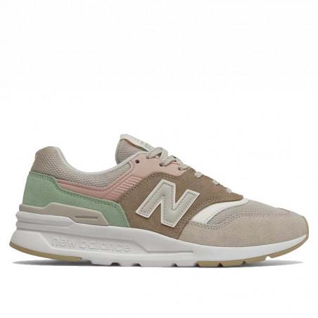 New Balance Sneakers, 997, Tan/Pink, gummisko, sneakers fra New Balance, multifarvede