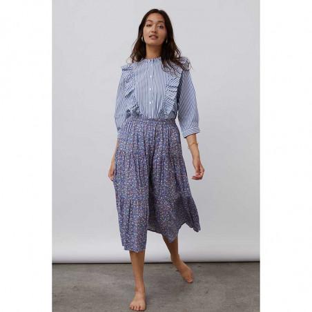 Lollys Laundry Skjorte, Hanni, Stripe på model look