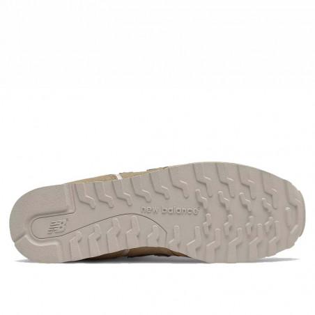 New Balance Sneakers, WL373, Covert Green/Space Pink, sandfarvet, mesh og ruskind, sål