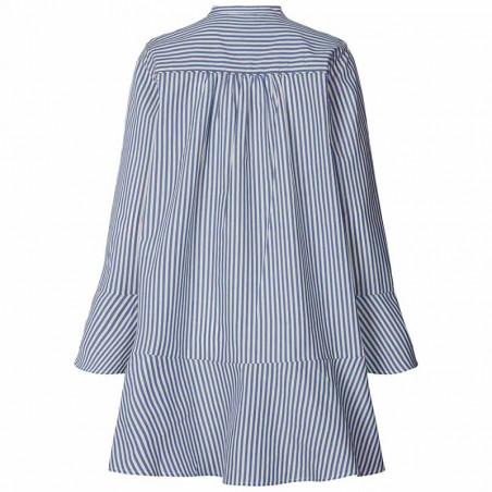 Lollys Laundry Kjole, Haddy, Stripe ryg