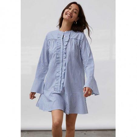 Lollys Laundry Kjole, Haddy, Stripe på model