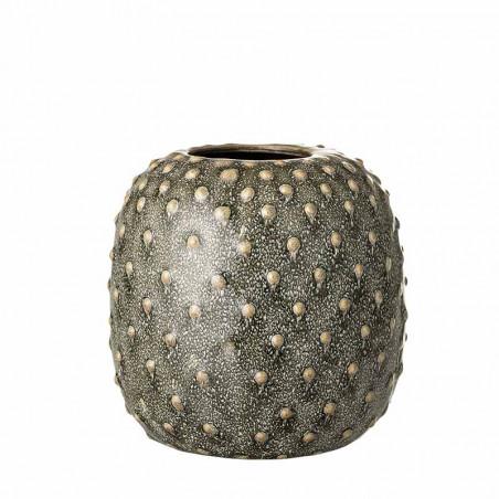 Bloomingville Vase, Miras, Grøn, stentøjs vase, keramik