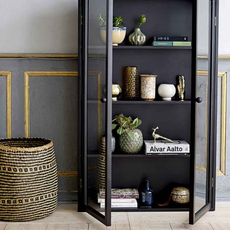Bloomingville Vase, Miras, Grøn, stentøjs vase, keramik, interiør