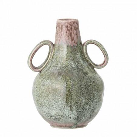 Bloomingville Vase, Ibbi, Grøn, stentøjs vase, keramik
