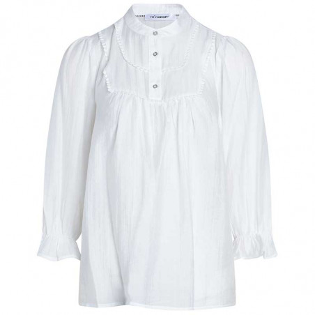 Co'Couture Bluse, Lisassa, White CoCouture top i hvid