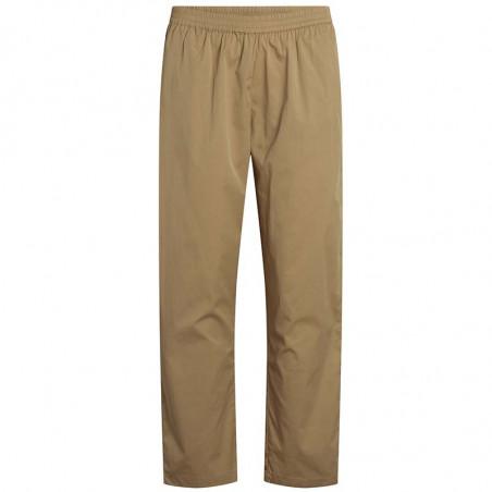 Co'Couture Bukser, Cotton Crisp Pant, Khaki Cocouture tøj til kvinder