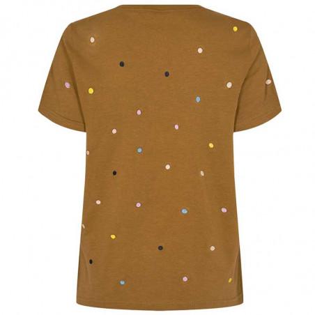 Nümph T-Shirt, Nucruz Tee, Breen numph bluse ryg