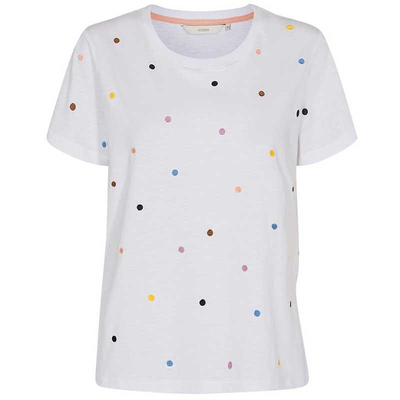 Nümph T-Shirt, Nucruz Tee, Bright White Numph t-shirt