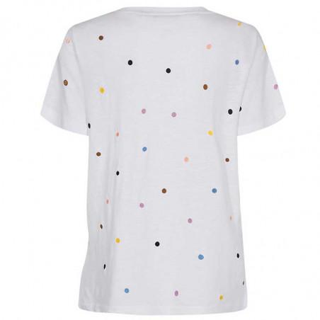 Nümph T-Shirt, Nucruz Tee, Bright White Numph t-shirt ryg