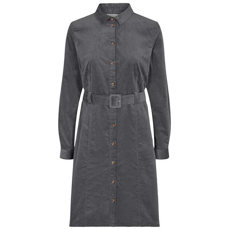 Nümph Kjole, Numaurya Dress, Iron Gate Numph fløjlskjole skjortekjole