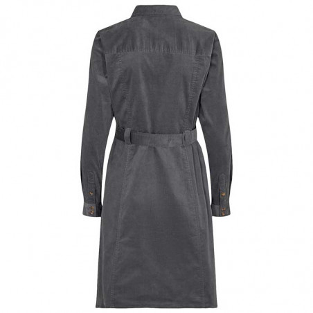 Nümph Kjole, Numaurya Dress, Iron Gate Numph fløjlskjole skjortekjole ryg