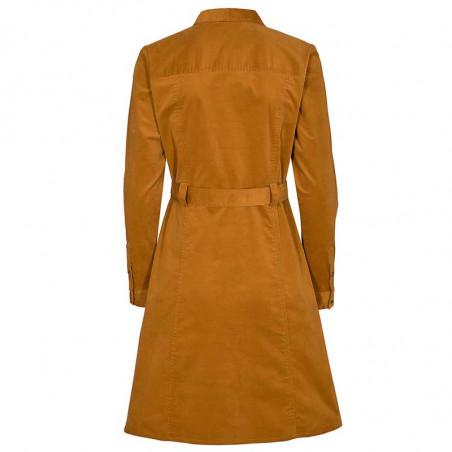 Nümph Kjole, Numauray Dress, Cathay Spice Numph skjortekjole ryg