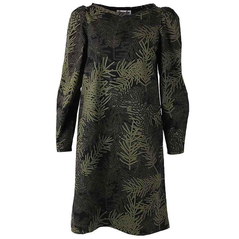 Danefæ Kjole, Lund, Black Olive Finepine Danefae tøj til kvinder