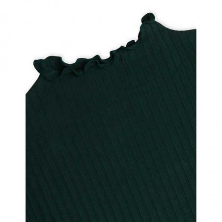Mads Nørgaard Bluse, Trutte, Scarab, langærmet t-shirt, grøn, rib, babylock