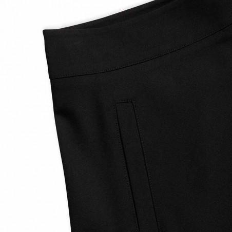 Mads Nørgaard Nederdel, Stelly Recycled Sportina, Black, black skirt, a-form, genanvendt polyester