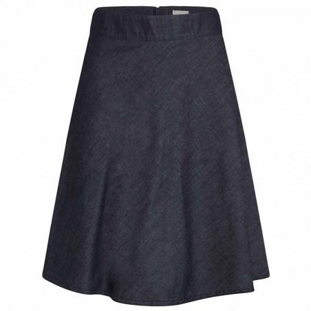 Mads Nørgaard Nederdel, Stelly Fall Indigo, Unwashed, denim skirt, a-form