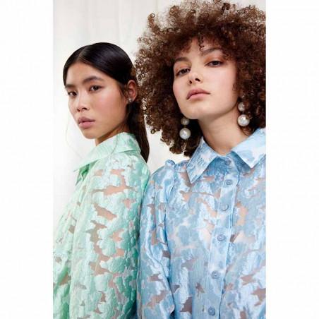 Hunkøn Skjorte, Feluca shirt, Light Blue hunkøn bluse
