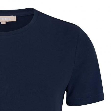 Soft Rebels T-shirt, SRElla T-shirt, Total Eclipse Tshirt med korte ærmer detalje