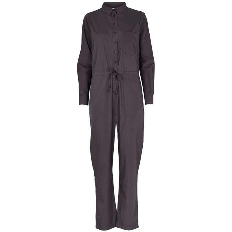 Basic Apparel Buksedragt, Vilde, Blackened Pearl Jumpsuit
