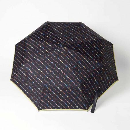 Beck Söndergaard Paraply, Liluye, Black Beck Søndergård taske paraply set oppefra