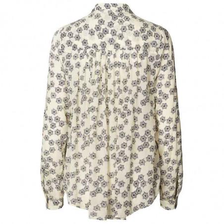 Lollys Laundry Skjorte, Lari, Creme lolly's laundry bluse skjortebluse ryg