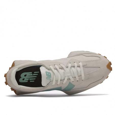 New Balance Sneakers, Higher Learning, Moonbeam/Storm Blue, gummisko, sneaker, ovenfra
