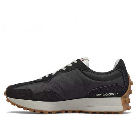 New Balance Sneakers, WS327HR1, Black/Washed Henna, gummisko, sorte sko, fra siden