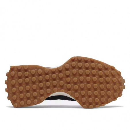 New Balance Sneakers, WS327HR1, Black/Washed Henna, gummisko, sorte sko, sål